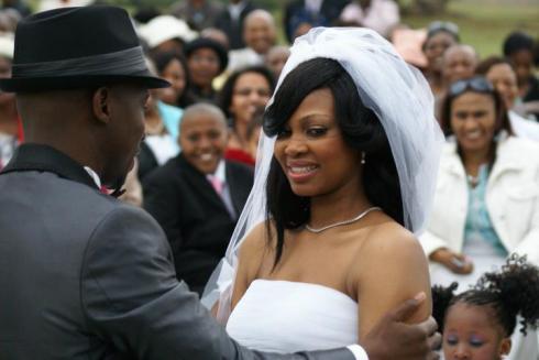 Blushing Makoti Gcaba's Wedding 8