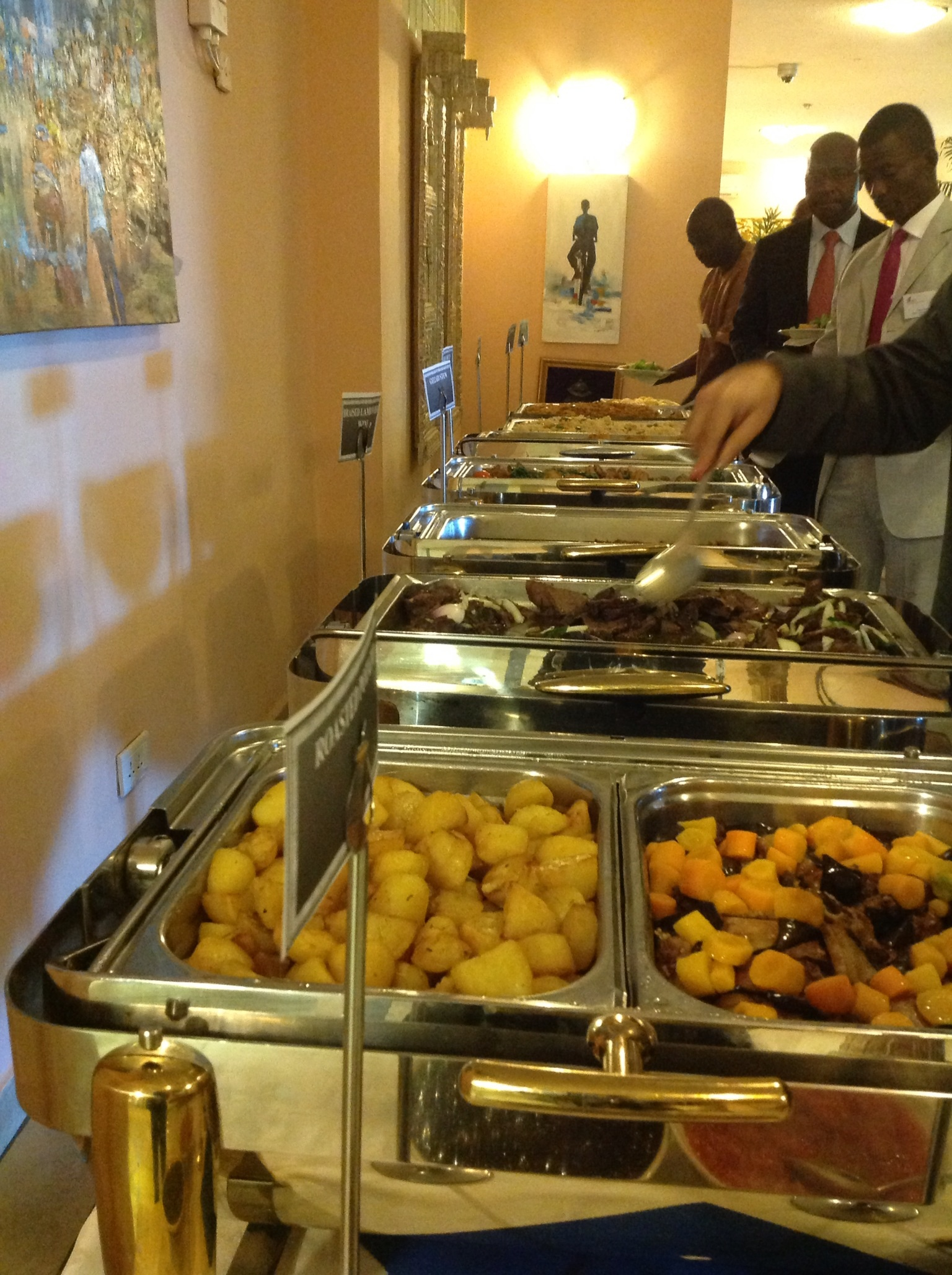 Catering blushing makoti for African cuisine menu