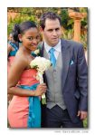 Blushing Makoti Lerato and Tshepo's white wedding 80