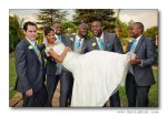 Blushing Makoti Lerato and Tshepo's white wedding 83