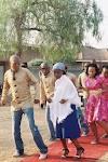 Blushing Makoti Tswana bride outfit 16