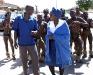 Blushing Makoti Tswana bride outfit 5
