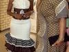 Blushing Makoti Tswana bride outfit 8