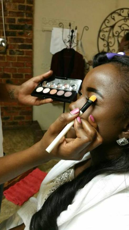 Mzobi's Bridal Makeup 2