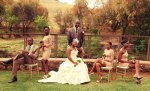 Blushing Makoti Lesego and Nathi's Wedding 35