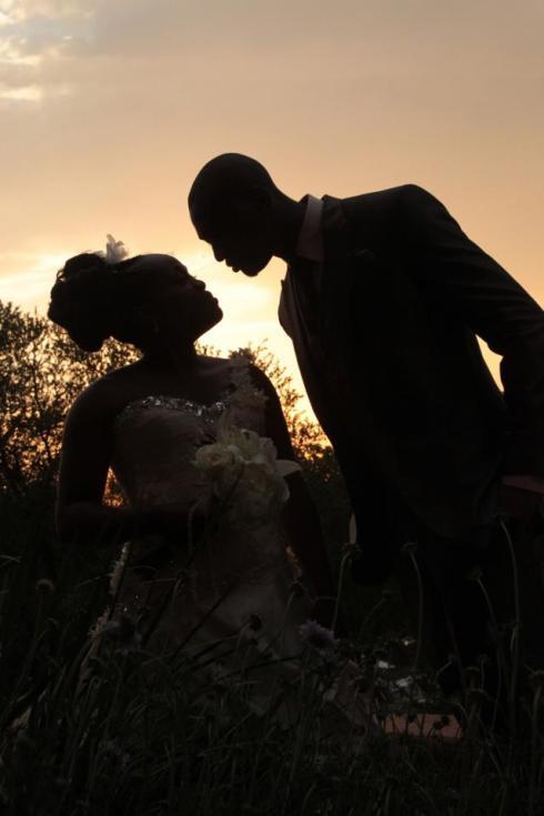 Blushing Makoti Lesego