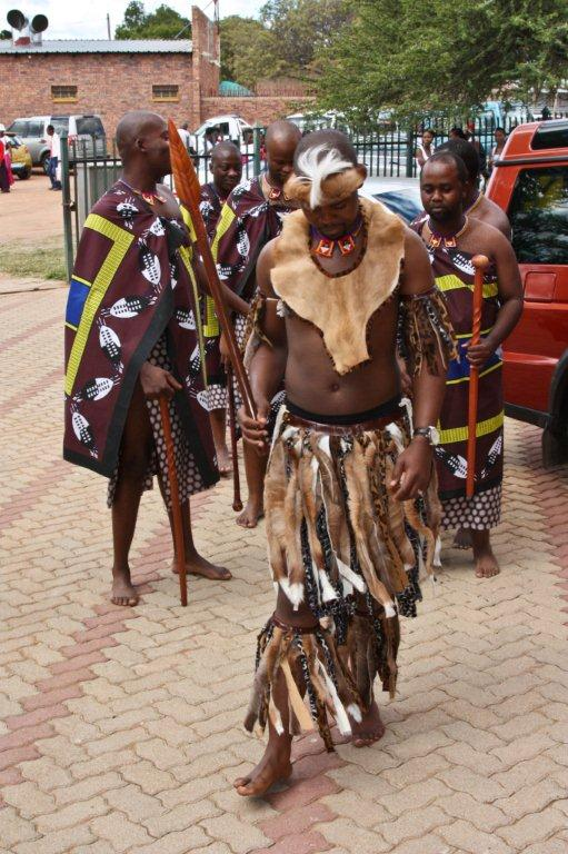... and Nzuzo Nhlebela's Traditional Wedding themed Fusion of Cultures