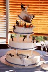 Blushing Makoti Wedding Cake 1