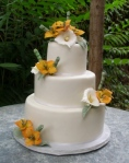 Blushing Makoti Wedding Cake Ideas 25