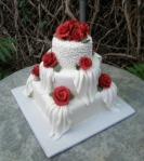 Blushing Makoti Wedding Cake Ideas 28