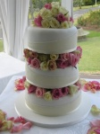 Blushing Makoti Wedding Cake Ideas 30