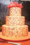 Blushing Makoti Wedding Cake Ideas 34