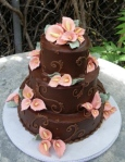 Blushing Makoti Wedding Cake Ideas 60