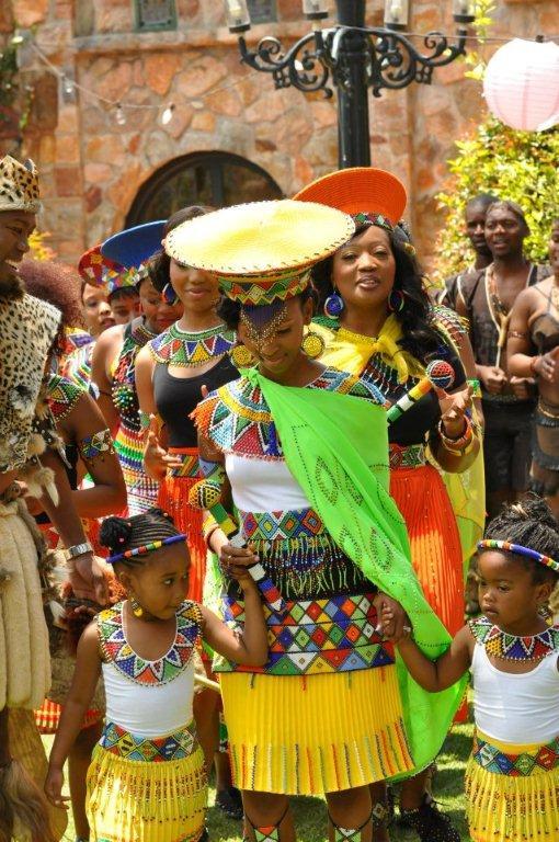 Generations dineo and phenyo s wedding blushing makoti