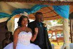 Blushing Makoti Lebo Mokau Wedding