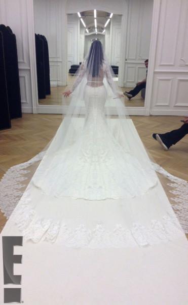 Kimye Wedding 1a