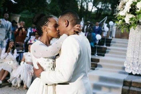 Thandaza and Ranthumeng edding celebration