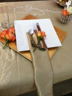 BM Gold Theme Wedding Decor 3